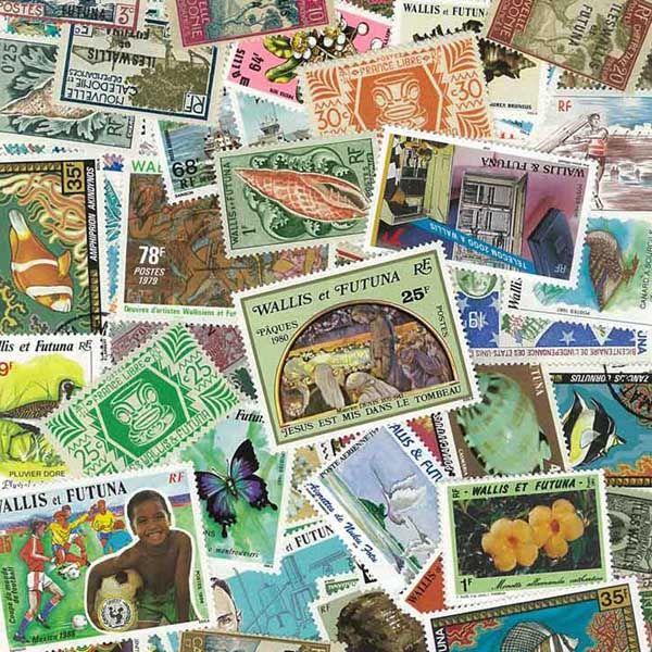 timbres de collection wallis et futuna oblit r s timbres d 39 oc anie. Black Bedroom Furniture Sets. Home Design Ideas