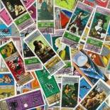 Collection de timbres Yemen Republique oblitérés