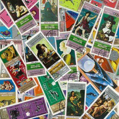 Yemen Republique - 100 timbres différents