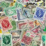 Colección de sellos Zanzibar usados