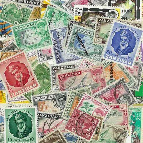 Zanzibar - 10 timbres différents