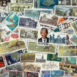 Sammlung gestempelter Briefmarken Südafrika