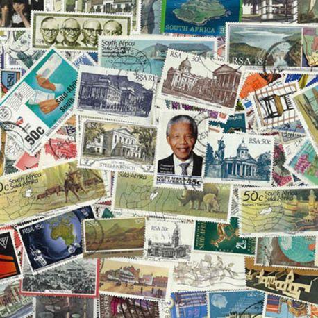 Afrique Du Sud - 100 timbres différents