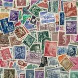 Sammlung gestempelter Briefmarken Deutschland 1933/1945