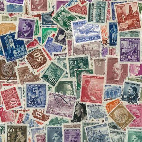 Deutschland 1933/1945-50 verschiedene Briefmarken