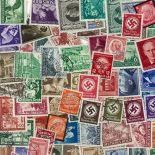 Sammlung bis 1945 gestempelter Briefmarken Deutschland