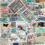 Französische Sammlung gestempelter Briefmarken Andorra