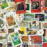 Sammlung gestempelter Briefmarken Afghanistan