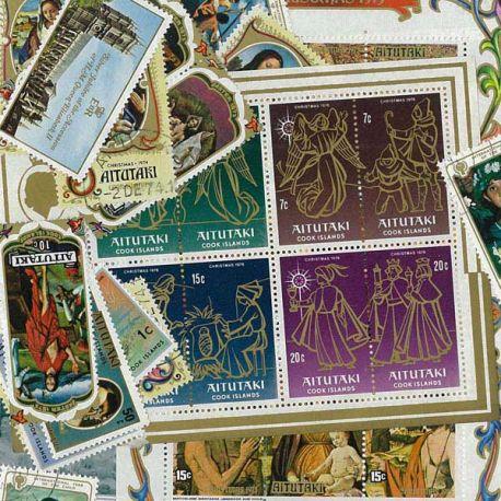Aitutaki - 10 verschiedene Briefmarken