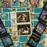 Used stamp collection Ajman