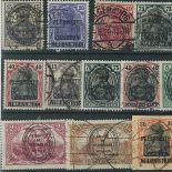 Collection de timbres Allenstein oblitérés