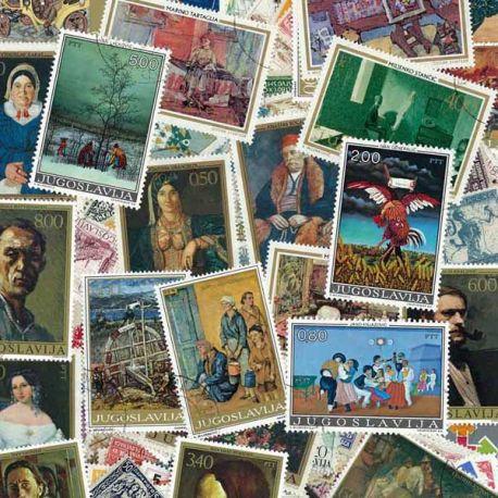 Jugoslawien - 100 verschiedene Briefmarken