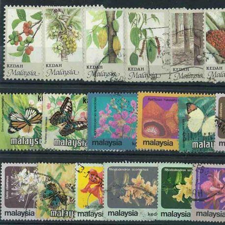 Kedak - 10 verschiedene Briefmarken