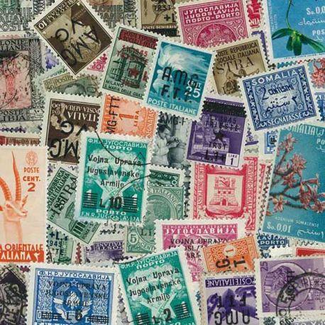 Japan Besetzung - 25 verschiedene Briefmarken
