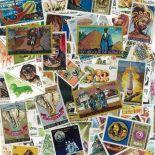 Französische Sammlung gestempelter Briefmarken Guinea