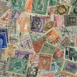 Used stamp collection Eritrea