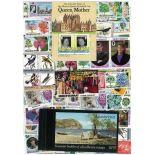 Collezione di francobolli Montserrat usati