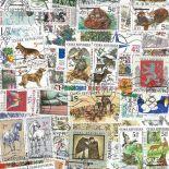 Tschechische Sammlung gestempelter Briefmarken Republik