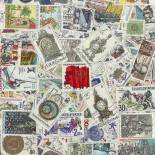 Used stamp collection Czechoslovakia
