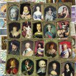 Sammlung gestempelter Briefmarken Tschad