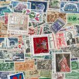 Sitzung: Sammlung gestempelter Briefmarken alle verschieden es