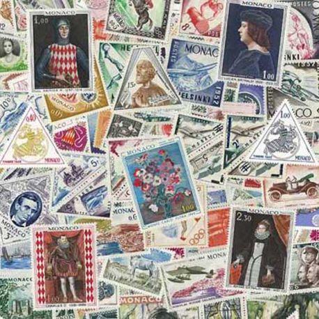 Collection de timbres obliteres de Monaco