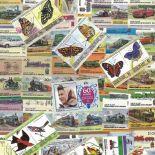 Collezione di francobolli Unione Island usati