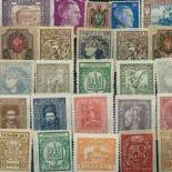 Used stamp collection Ukraine