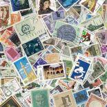Sammlung gestempelter Briefmarken die Türkei