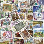 Colección de sellos Túnez usados