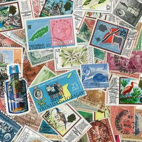 Trinidad und Tobago - 25 verschiedene Briefmarken