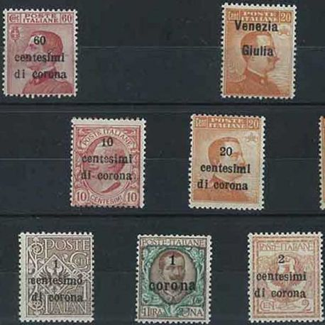 Trente Trieste - 10 timbres différents