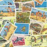 Tokelau Sammlung Von gestempelt Briefmarken