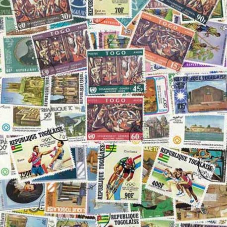 Togo - 50 timbres différents
