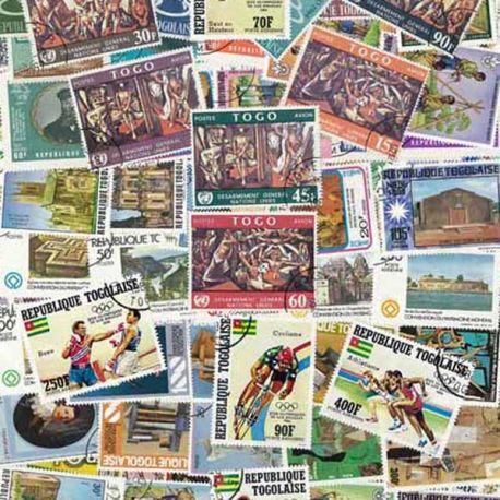 Togo - 50 verschiedene Briefmarken