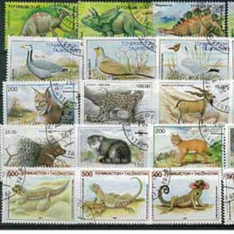 Tadjikistan - 25 timbres différents