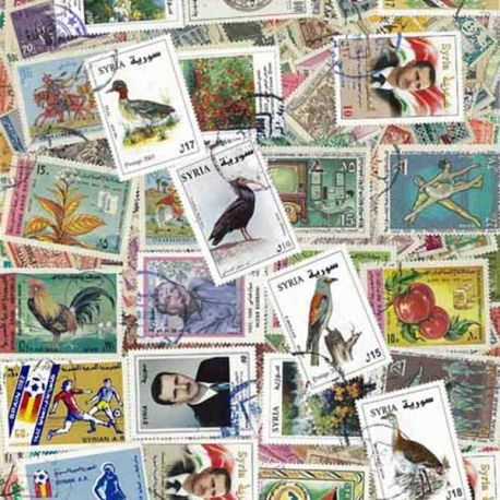 Syrie - 50 timbres différents