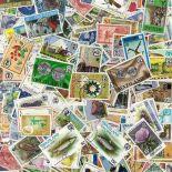 Sammlung gestempelter Briefmarken Swaziland