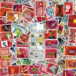 Collezione di francobolli Svizzera usati