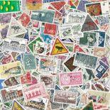 Sammlung gestempelter Briefmarken Schweden