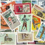 Collezione di francobolli armi cancellati
