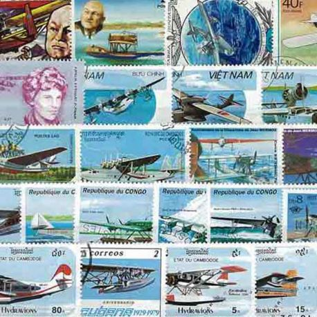 Collection Timbres Avions Collection de timbres Avions Canadairs oblitérés à partir de 5,75 €