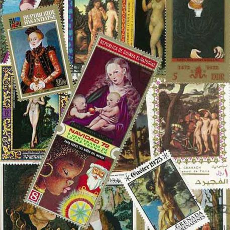 Cranach: 20 verschiedene Briefmarken