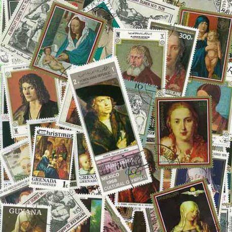 Collection de timbres Durer oblitérés