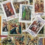 Collection de timbres El Greco oblitérés