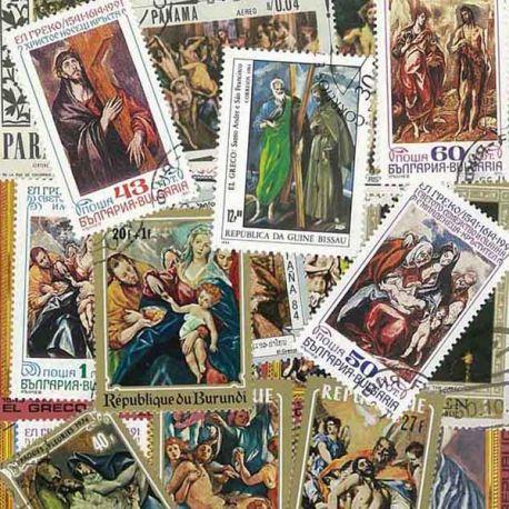El Greco: 25 verschiedene Briefmarken