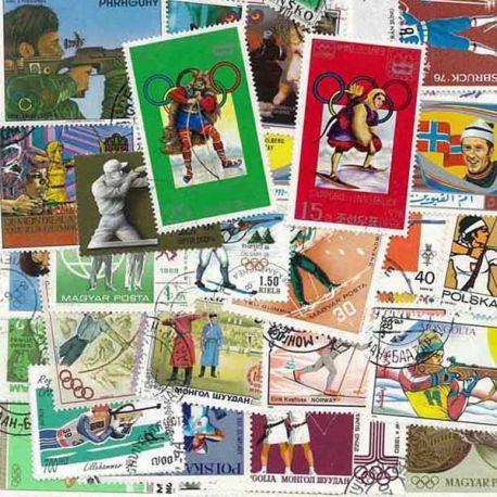Collection de timbres Tir oblitérés