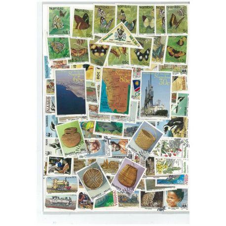 Namibia - 25 verschiedene Briefmarken