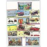 Collection de timbres Nanumaga oblitérés