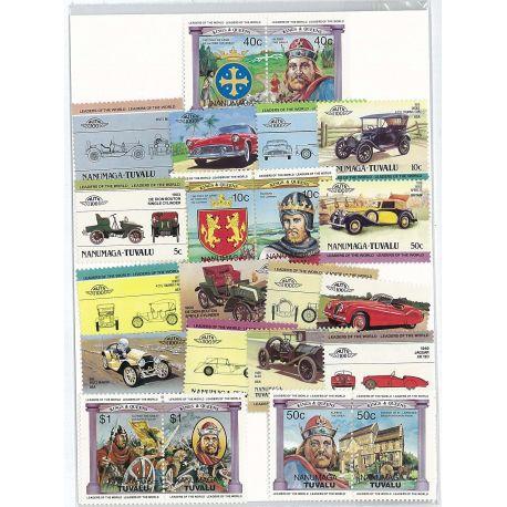 Nanumaga - 20 different stamps